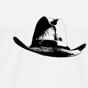 Cowboy hat - Men's Premium T-Shirt