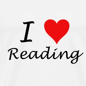 I Love Reading - Men's Premium T-Shirt