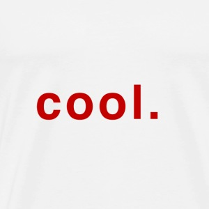 "The word ""cool"" in red"