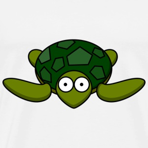 Turtle cartoon - Kindermotiv - Mannen Premium T-shirt