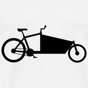 Cargo bike silhouette black