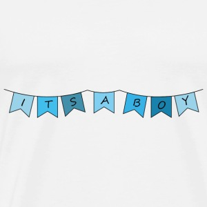 its a boy - Männer Premium T-Shirt