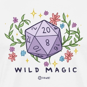 WILD MAGIC - Premium T-skjorte for menn