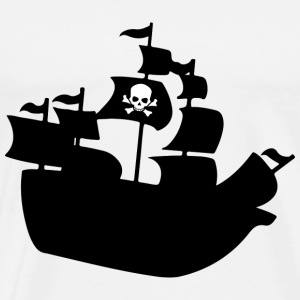 piraten - Premium-T-shirt herr