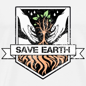 Save earth - Men's Premium T-Shirt