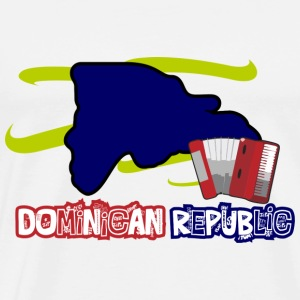 Dominican Republic Music - Camiseta premium hombre
