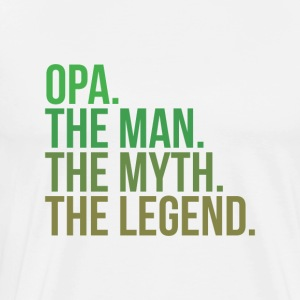 granny opa the man - Männer Premium T-Shirt