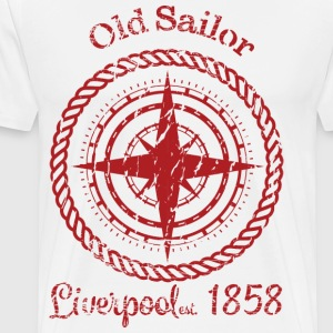 Old SailorRed - Männer Premium T-Shirt