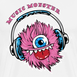Music Monster DJ Party - Men's Premium T-Shirt
