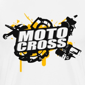 Motocross Supermoto Enduro Vol.I - Premium-T-shirt herr