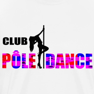 POLE DANCE - Premium T-skjorte for menn