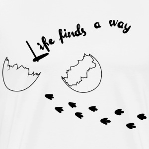Life Finds Its Way - T-shirt Premium Homme