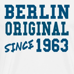 Berlin Original 1963 Cool Fun Funny Gift - Men's Premium T-Shirt