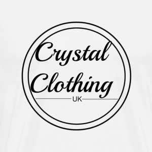 Crystal Clothing Logo - Men's Premium T-Shirt