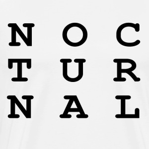 Nocturnal.. - Men's Premium T-Shirt