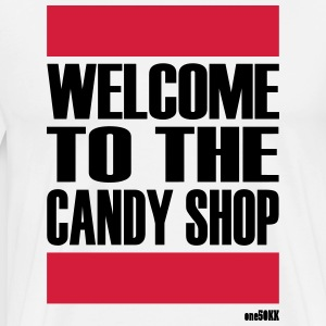 BIENVENUE À LA BOUTIQUE CANDY - T-shirt Premium Homme
