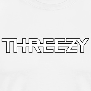 Threezy logo - Men's Premium T-Shirt