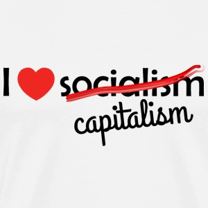 I love capitalism capitalism - Men's Premium T-Shirt
