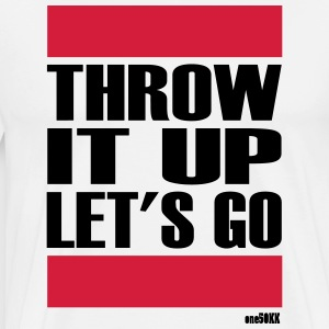 THROW IT UP - Männer Premium T-Shirt