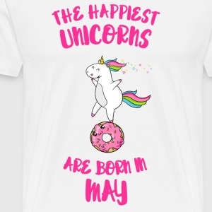 May May Unicorn Unicorn idea birthday gift - Men's Premium T-Shirt