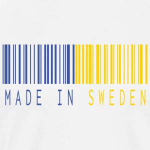MADE IN SWEDEN BARCODE - T-shirt Premium Homme