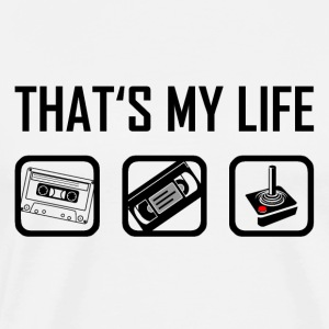 This is my life - 90s nineties retro vintage - Men's Premium T-Shirt