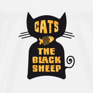 CATS - The Black Sheep - T-shirt Premium Homme