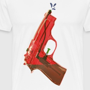 Red water pistol - Men's Premium T-Shirt