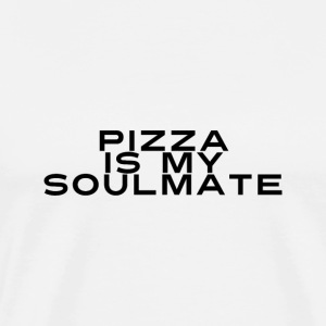 Pizza is mijn zielsverwant - Mannen Premium T-shirt