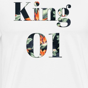 King 01 Tropical Edition - Männer Premium T-Shirt