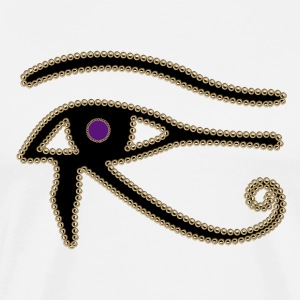 Eye of Horus - Premium T-skjorte for menn