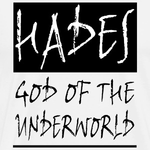 HADES GOD OF THE UNDERWORLD - Men's Premium T-Shirt
