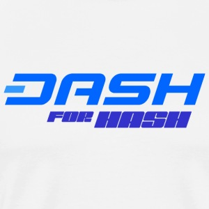 Dash for hash - Premium T-skjorte for menn