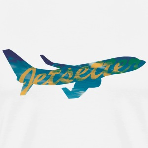 Jetsetter Airplane - Men's Premium T-Shirt
