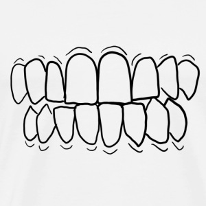 TEETH! - Men's Premium T-Shirt