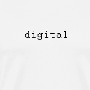 digital - Herre premium T-shirt