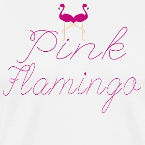 Flamingo Pink Flamingo - Men's Premium T-Shirt