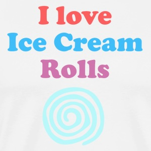 Ice Cream Rolls - T-Shirt - Men's Premium T-Shirt