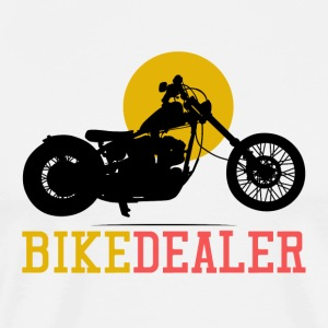 Bike Dealer · LogoArt - Premium T-skjorte for menn