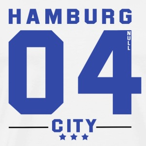 Hamburg CITY - Premium T-skjorte for menn