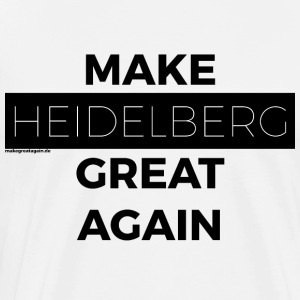 MAKE HEIDE MOUNTAIN GREAT AGAIN black - Men's Premium T-Shirt