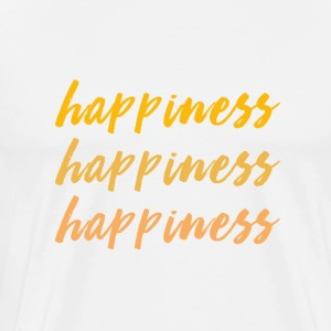 happiness love - Men's Premium T-Shirt