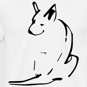 Happy dog - Mannen Premium T-shirt