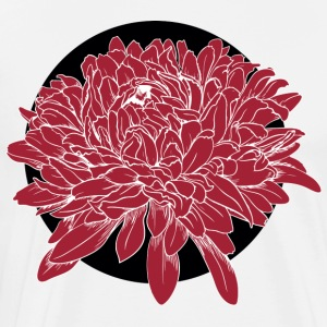 Red flower - Men's Premium T-Shirt