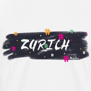 Zurich #1 - Men's Premium T-Shirt