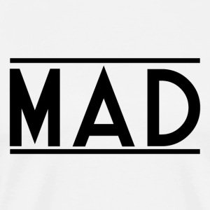 MAD - Herre premium T-shirt