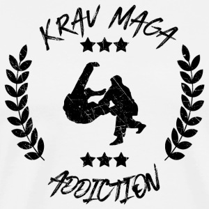 Krav Maga Addiction - Selbstverteidigung Defense - Männer Premium T-Shirt