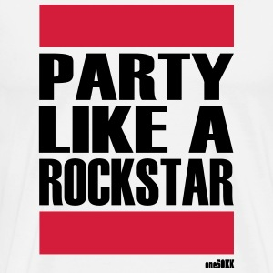 PARTY LIKE A STAR - Men's Premium T-Shirt