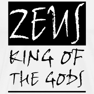 ZEUS KING OF THE GODS - Männer Premium T-Shirt