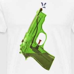 Green water pistol - Men's Premium T-Shirt